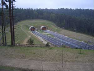 A3 Tunnel Entrance
