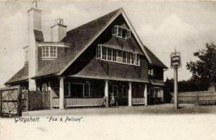 Fox & Pelican c.1903 viewed from the south west