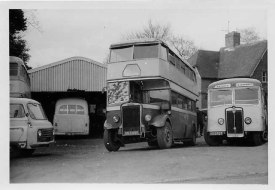 Grayshott Coaches RC yard 1962