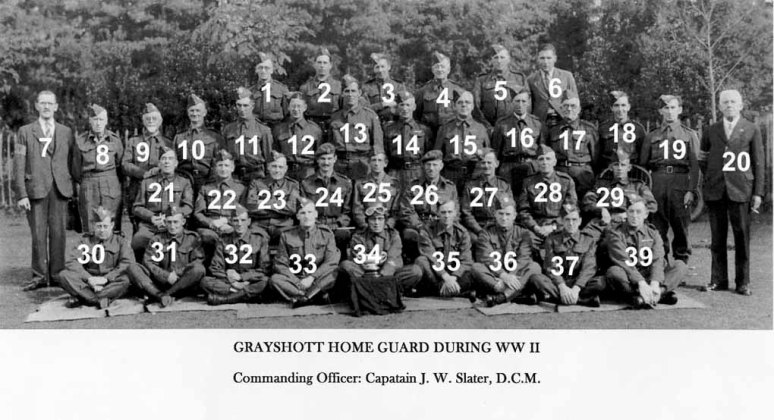 Grayshott Home Guard personel