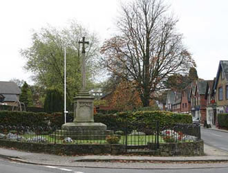 Grayshott War Memorial - location today