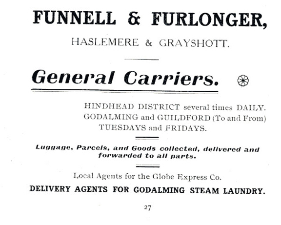 Funnell and Furlonger 1915