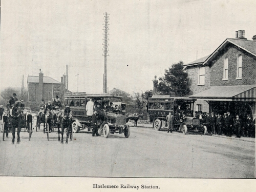Haslemere Station yard 1910