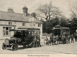 Ben Chandler's Commer bus service 1910