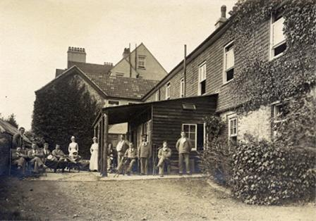 Grayshott War Hospital 1917 with patients