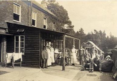 Grayshott War Hospital 1917