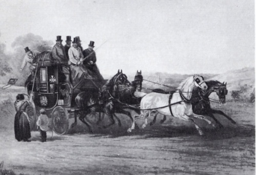 Coach travel 1820s