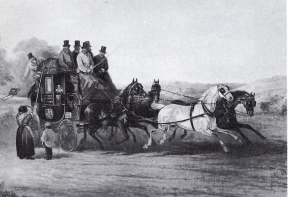 Coach travel 1820s