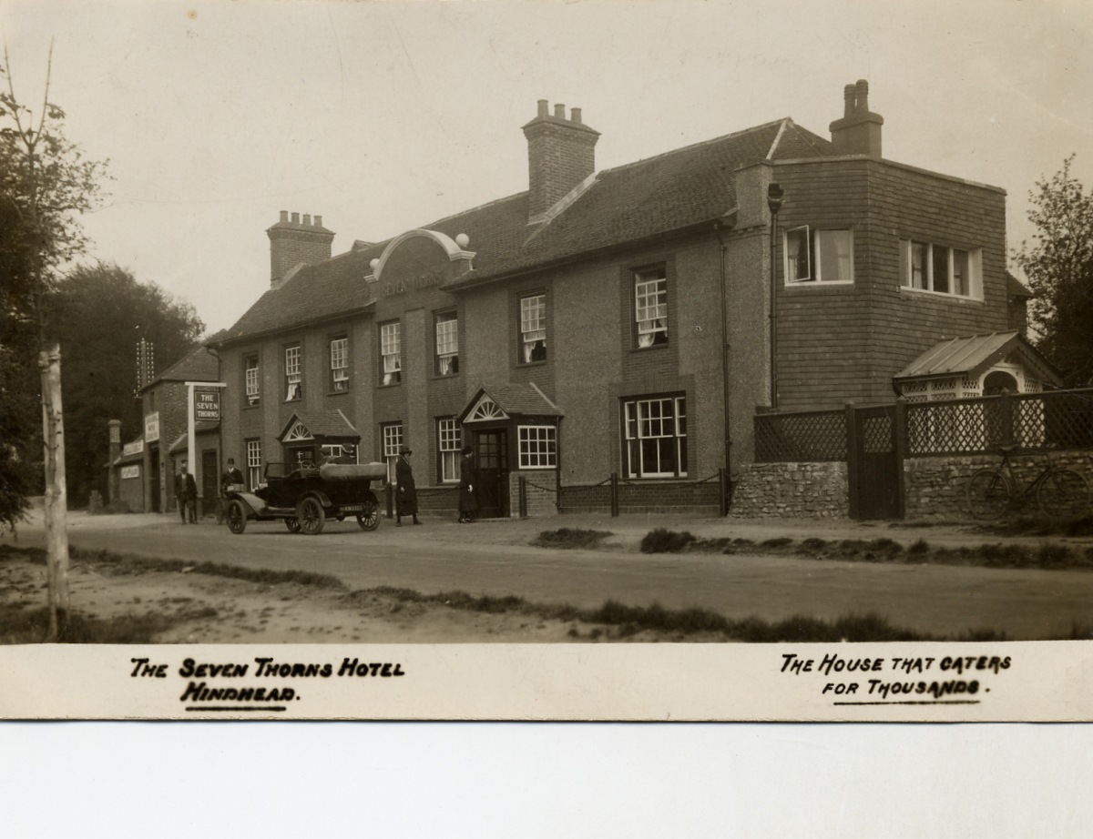 1920s view of the 'Seven Thorns'