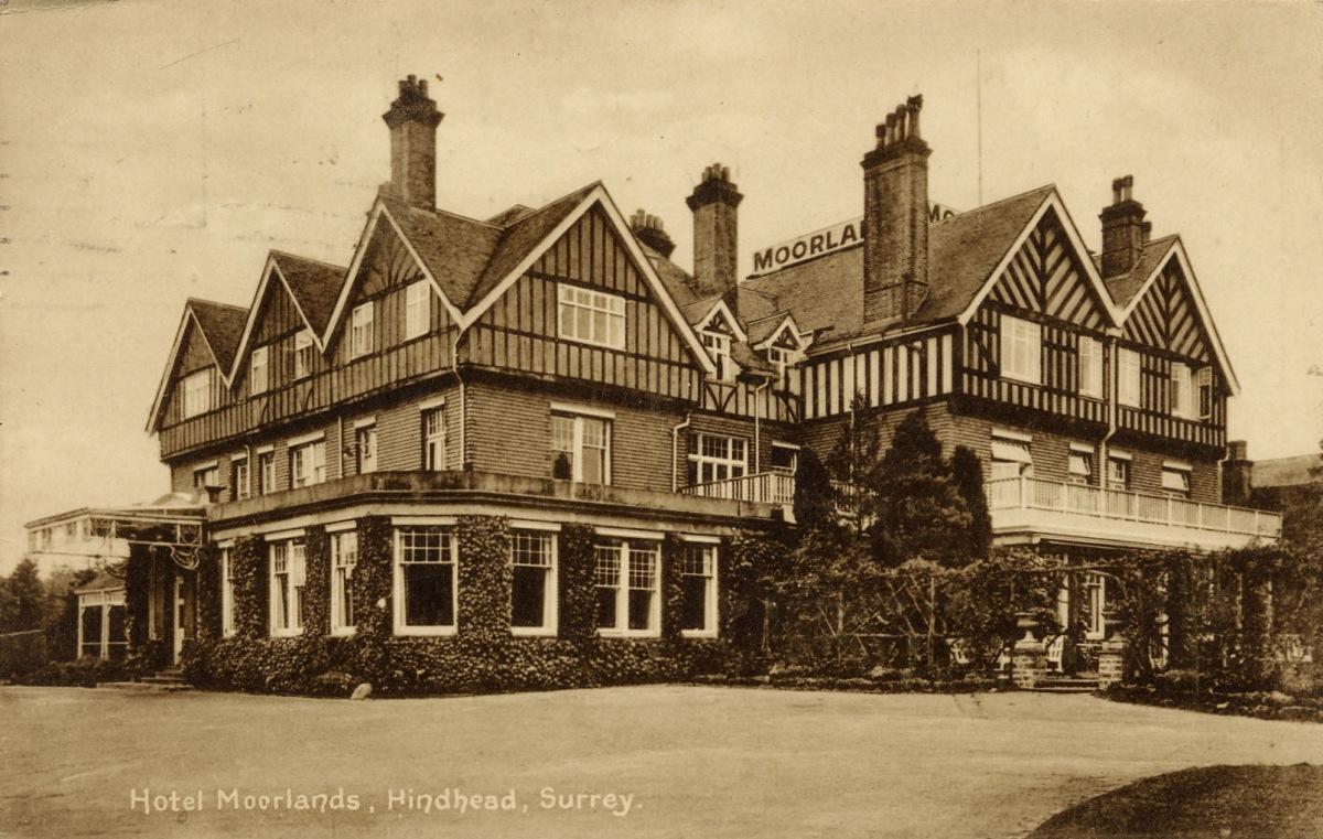 Moorlands Hotel mis 1890's
