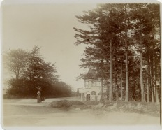 View of Portsmouth Road and Haslemere Road crossroads about 1895