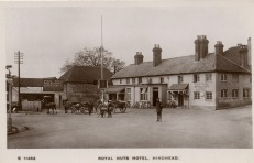The Royal Huts Hotel c1908
