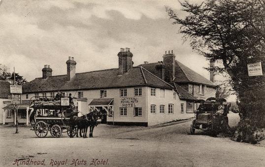 Horse bus service 1904