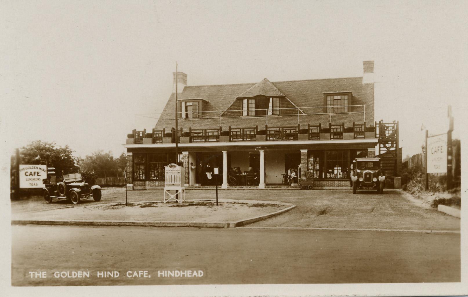 The 'Golden Hind' café 1920's