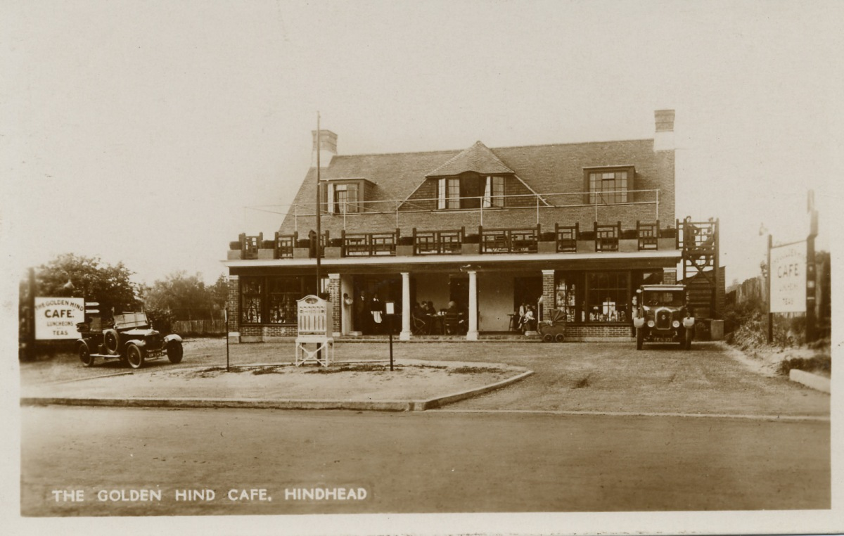The 'Golden Hind' café 1920's