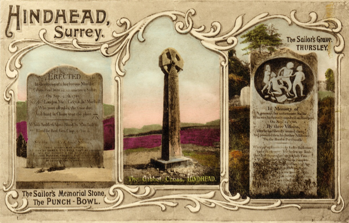Hindhead postcard
