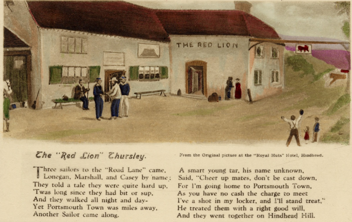 The 'Red Lion' Thursley