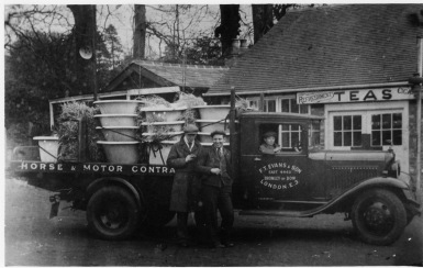 Radford Bridge transport café, post WW1