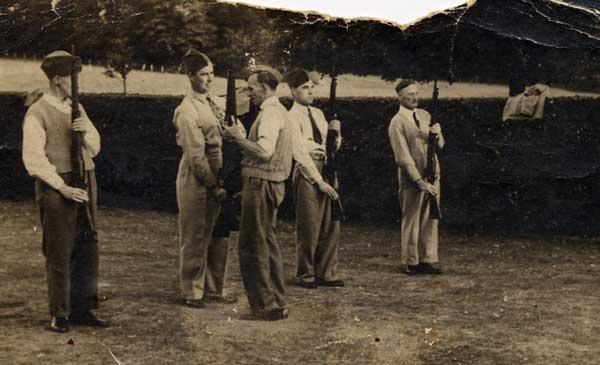 Grayshott Home Guard c. 1940