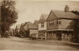 Crossways Road / Headley Road junction c.1926
