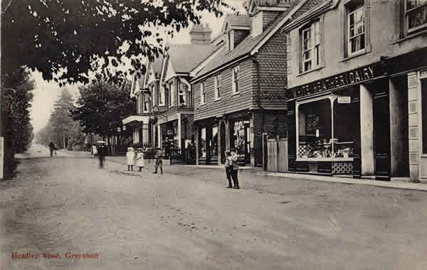 Headley Road c.1905