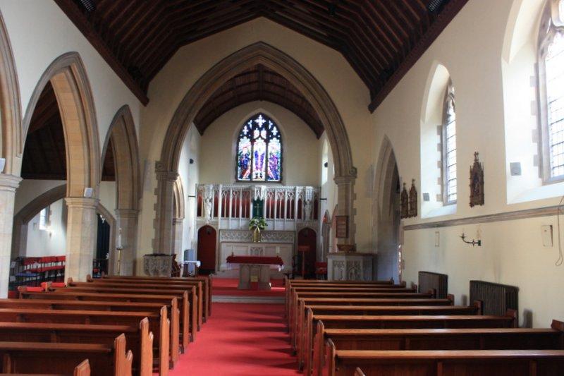 Interior of St. Joseph's Church 2010
