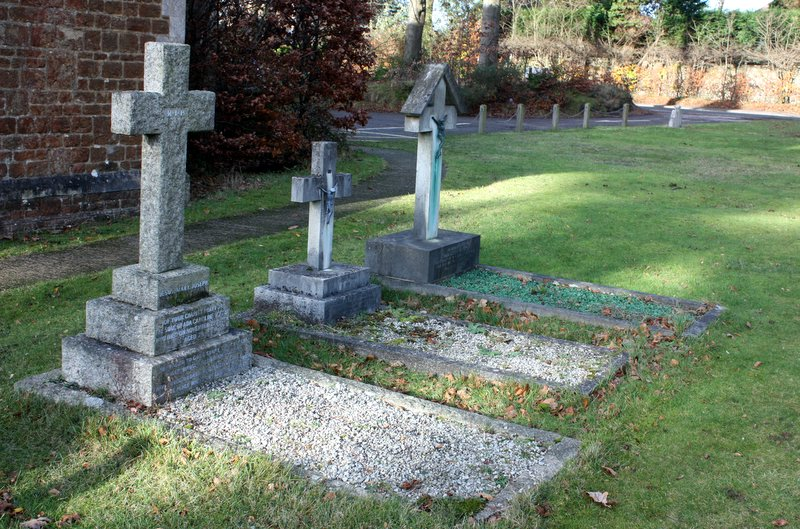 The Graves of Mrs Ada Vertue Father Harnett & Father Harvey