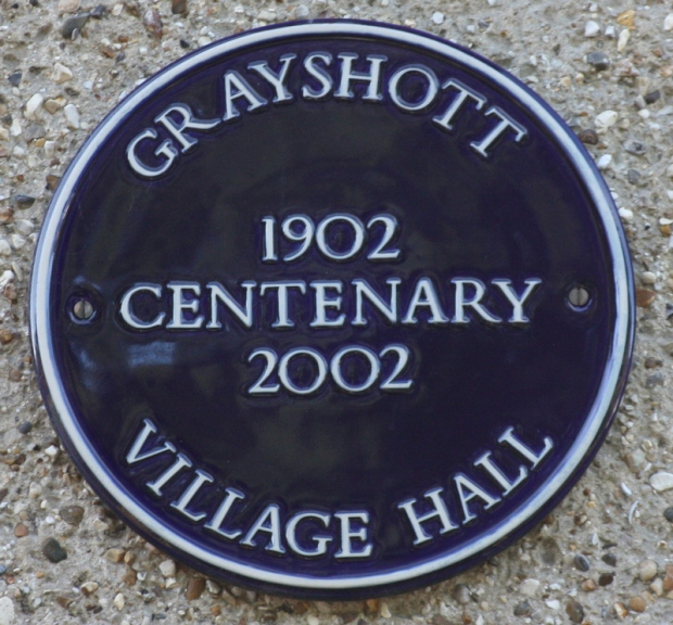 Grayshott Village Hall Centenary 2002