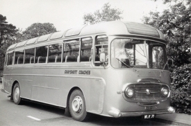 Pride of the Grayshott Coaches fleet in 1965