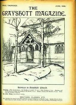 Sketch of St Luke's drawn by Miss Madeleine de Pury May 1900