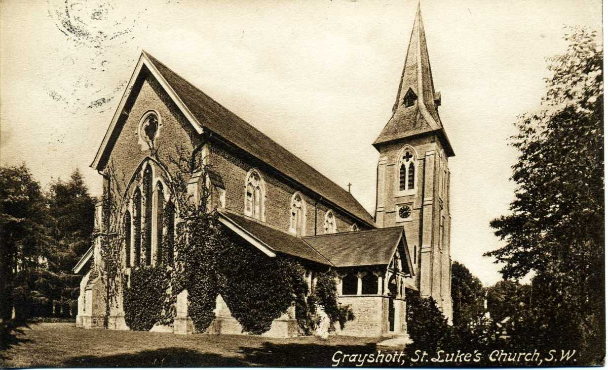 St-Lukes post 1910