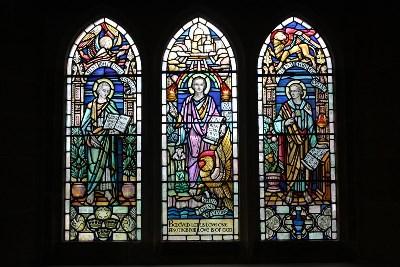 St Matthew, St John the Divine, St Mark