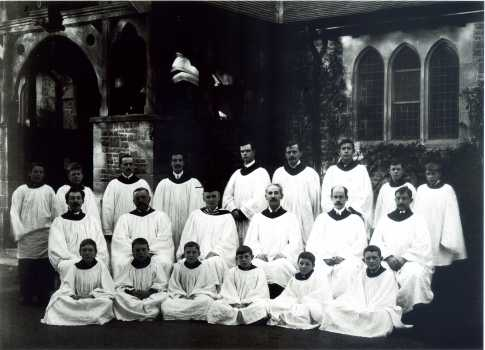Choir of St Luke's c 1920/30's