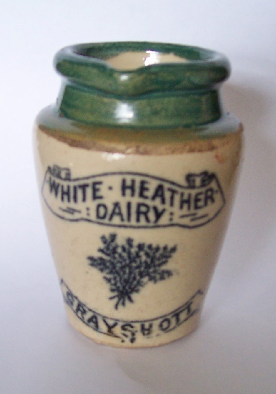 White Heather Dairy Jug