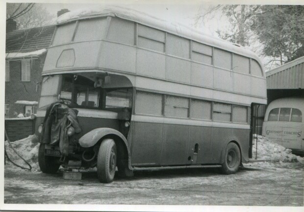 Grayshott Bus Winter 1962 63