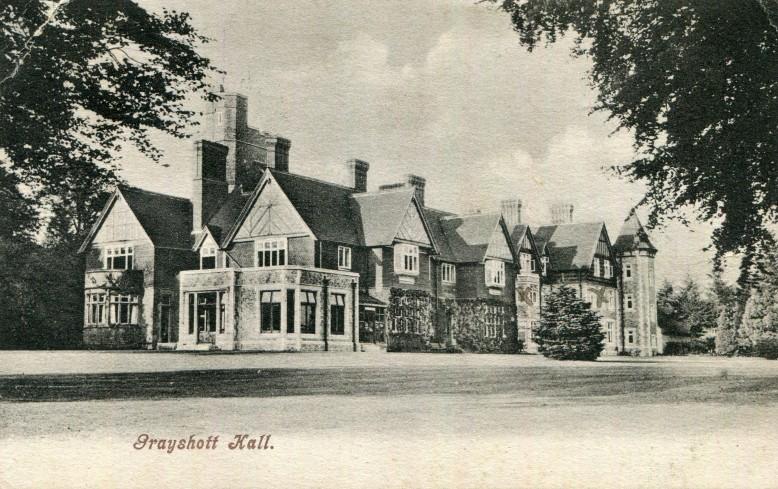 Grayshott Hall Nursery front