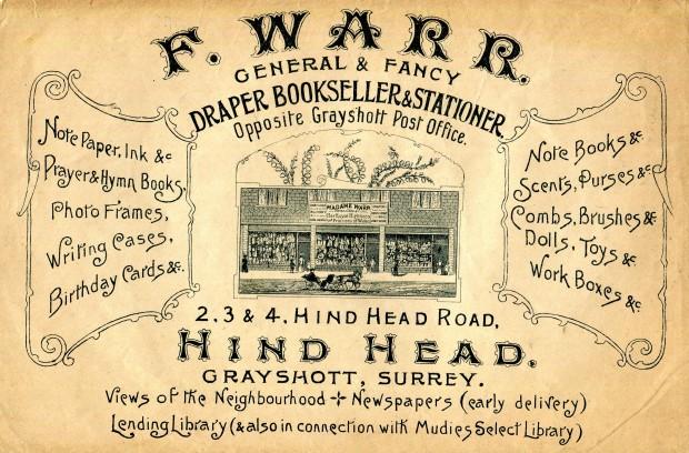 Madame Warr's Leaflet