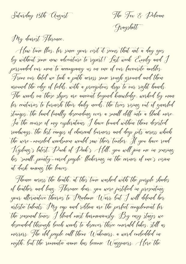 Postcard 7 Script